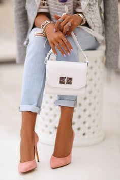 VivaLuxury - Fashion Blog by Annabelle Fleur: NEW FAVORITES :: IRO ZARIUS BAG & SYDRAE PUMPS