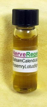 Nerve Regenerate -This regenerating blend, rich with Frankincense, was created to assist in treatment of a cervical brachial plexus nerve injury. This blend has also been found to be helpful for autism. - unwinding emotional blockages in the heart and solar plexus.