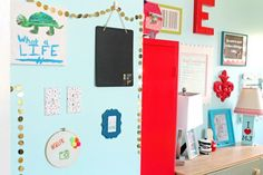 Tween Bedroom Makeover Ideas! Love all the fun colors!