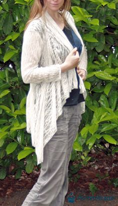 mommymade-blog: Cardigan - Tutorial