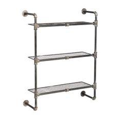 Aariz 3 Shelf Pipe Rack