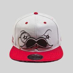 Boné Other Culture Snapback Mr. Mustache