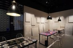Projeto Estúdio Brunato para Decortiles #estudiobrunato #revestir2015 #ceramicaeliane #arquiteturaedesign