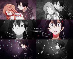 So sad. ;_; I always cry during this scene. Kirito's reaction is just heartbreaking...