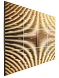 wooden sound absorption panel NOTON by Claesson, Koivisto, Rune Swedese Möbler Wall Design, House Design, Studio Design, Acoustic Wall Panels, Sound Room, Room Acoustics, Acoustic Design, Sound Absorption, Home Studio Music