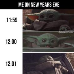Are you searching for funny and cute baby yoda new year meme? Check out the top 10 best and funny baby yoda new year memes below. Star Wars Meme, Funny Shit, Funny Cute, Funny Stuff, Funny Happy, Funny Relatable Memes, Funny Jokes, New Year Meme, Yoda Meme