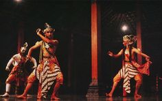 In the East Javanese Majapahit kingdom, the court dance-drama was called raket. The stories were derived from a contemporary East Javanese story cycle known as The Adventures of Prince Panji, and the performances are known to have lasted from evening until noon the next day. The theatrical tradition of Hindu-Buddhist East Java disappeared or a least changed with the spread of Islam to Java in the fifteenth century. It was adopted by the Hindu courts of Bali, where it evolved into the gambuh.