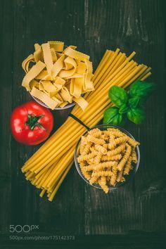 pasta on a wooden underground by ChristianFischer2  IFTTT 500px