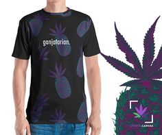 58efaa64 Gift for Him, Stoner Gift, Weed Tshirt, Cannabis tee, Gift for Boyfriend,  Cannabis Clothing, Men's t-shirt, Pineapple shirt, Marijuana Leaf
