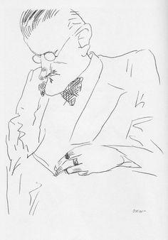 Tullio Pericoli  James Joyce