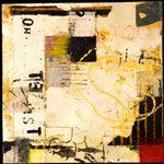 Encaustic Artist Mary Black - Encaustic Art Mixed Media on Paper -