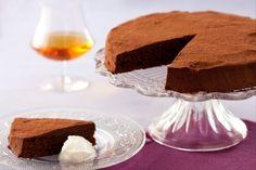 Recette de Gâteau au chocolat au Madère, crème vanillée