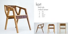 The Kart Chair by Harbenger Duo
