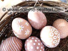 DIY & Deko Idee für die Ostertage: Stilvolle Eier für das Osternest und ein gemütliches Osterfrühstück | Blog Sabine Seyffert