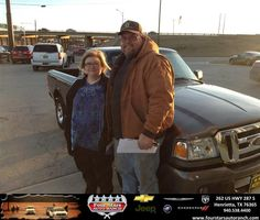 Congratulations to Lance and Linda Edgemon on your #Ford #Ranger purchase from Everyone at Four Stars Auto Ranch! #NewCar