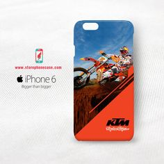 KTM Racing Troy Lee Design  iPhone 6 6S Cover Case