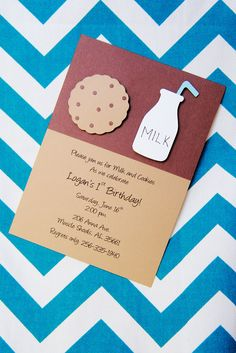 """Photo 1 of 31: Cookies and Milk Party Featuring Cookie Monster! / Birthday """"Logan's First Birthday Party"""" 