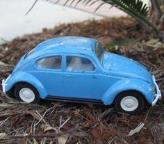 Vintage Tonka Metal VW Volkswagen Beatle Bug by JujubefunnyFinds, $14.00