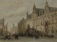 12 februari 1929 Het stadhuis van Leiden brandt af.