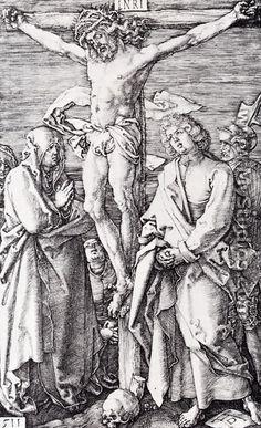 Crucifixion (Engraved Passion) - Albrecht Durer