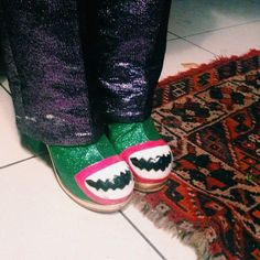 Spotted these #MeadhamKirchhoff shoes lurking in a dark corner