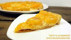 Un buen pastel de frutas: #Tarta de #albaricoques Fácil #receta casera paso a paso. #golosolandia http://www.golosolandia.com/2016/05/tarta-de-albaricoques.html