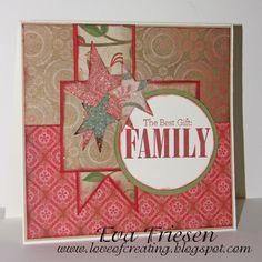 Handmade Christmas Greeting Card. $6.50, via Etsy.