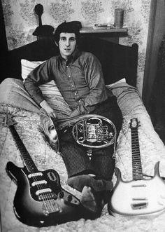 John Entwistle - The Who.  Fender 6 & Danelectro Longhorn basses