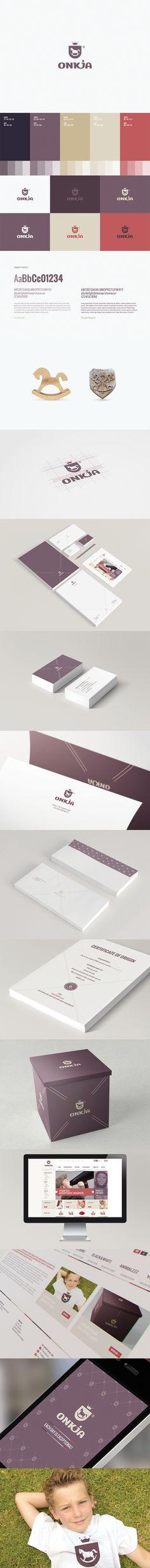 Onkja by Motyf , via Behance