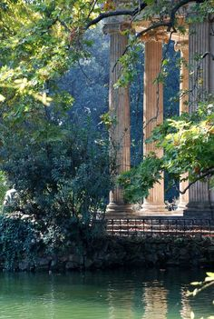 Sunshine on the Temple - Villa Borghèse - Rome - Italy Photo by Alessandro Pinto -- National Geographic Your Shot