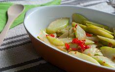 Versão mineira do legume refogado (Chuchu) fica pronta em apenas 15 minutos