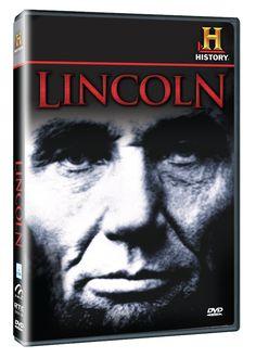 Diseño publicitario de DVD's - Stop Diseño Gráfico - Diseño de Lincoln - History Channel.