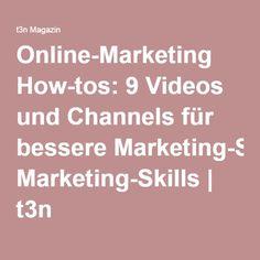 Online-Marketing How-tos: 9 Videos und Channels für bessere Marketing-Skills   t3n