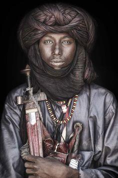 Niger - Tuareg & Fulani - SEPS Dress, Culture, and Society - African Tribes African Tribes, African Men, African History, African Beauty, African Attire, African Style, African Dress, Tuareg People, Arabian Knights