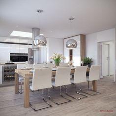 Jedálenská zostava Home Room Design, House Rooms, Conference Room, Dining Table, Living Room, Interior Design, Kitchen, Furniture, Glamour