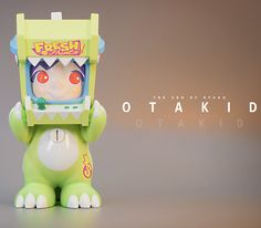 OTAKID Baby Dinosaur Green Edition figure by Sank Toys PREORDER ships Dec 2020