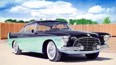 1955 Chrysler Flight. Sweep II Concept by Ghia