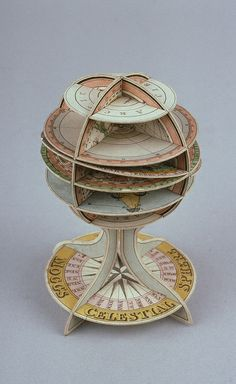 Dissected paper celestial sphere by Edward Mogg (Wh.5620), Whipple Museum of the History of Science, 1813