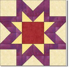 Quilt Blocks of the States - Virginia  Quilting