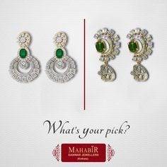 What's Your pick today At #‎MahabirDanwarJewellers‬