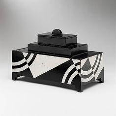 Art Deco Cigarette box c.1928, Donald Deskey