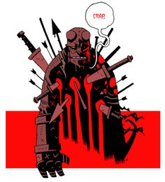 Amazing Hellboy picture by Dan Hipp