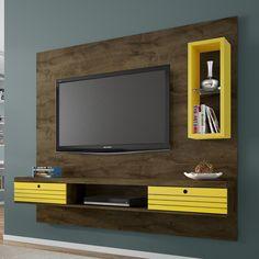 A sua sala de estar, pode ficar muito mais charmosa. Este painel é prático na montagem, além de ajudar na decoração do ambiente. ;)     #decoração #design #madeiramadeira