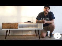 Mid Century Modern Coffee Table DIY | Modern Builds | EP. 11 - YouTube