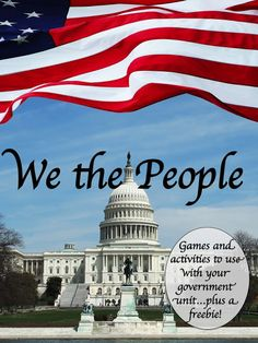 Get everything you need to fill-out your government unit right here.games, activities, a government freebie and much more! 3rd Grade Social Studies, Social Studies Classroom, Social Studies Activities, Teaching Social Studies, Teaching History, Classroom Resources, Teaching Resources, Teaching Ideas, Classroom Ideas