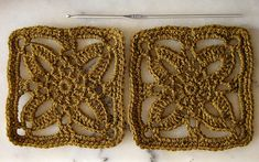 Ravelry: Freesia Square pattern by Gaby V