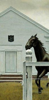 Alex Colville Canadian Painters, Canadian Artists, Art Gallery Of Ontario, Alex Colville, Tate Gallery, Galleries In London, Museum Of Fine Arts, Artist Painting, Surreal Art