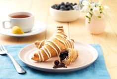 Let the kids have their baskets while you enjoy fresh baked Blueberry Breakfast Croissants on Easter morning. They are delicious on any other day, too!