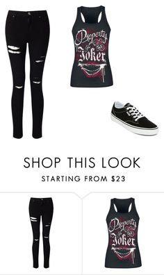 """Untitled #355"" by ootori5sos on Polyvore featuring Miss Selfridge and Vans"