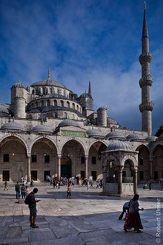 Sultan Ahmed Mosque Istambul #Turkey